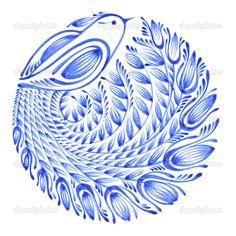 цветочный круг - Стоковая иллюстрация: 29132763