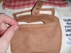 basket with buckle