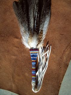 Native American  Made Dance / Smudge Fan by NativDesigns on Etsy