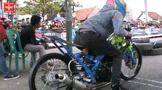 MOTOR BRAIN - Beginner Drag Racing FOUR STROKE 200cc Drag Bike