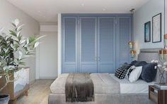 Fiatal család 84m2-es háromszobás lakásának modern, kényelmes berendezése - sok tárolóhely, erkélybeépítés, kellemes pasztell színek