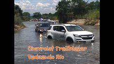 Chevrolet Trailblazer vadeando río | Naves 4x4 Chevrolet Trailblazer, 4x4, Wading River, Videos