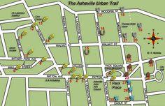 Asheville Urban Trail- walking sculpture tour