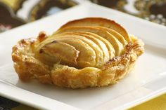 Tarte Amandine - one of the main components of the dish is frangipane, a buttery almond filling   Made by Jacqueline Pham of Pham Fatale.