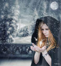..Snow Goddess.. by 3ddream.deviantart.com on @deviantART