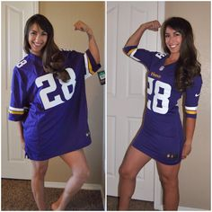 Sew Much More than Rubies: Football Jerseys: For girls!!