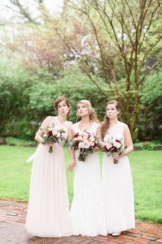 Bridal Party | Wedding Day | Victoria + Zach | Elkridge Furnace Inn |  VA MD DC Wedding + Engagement Photographer | Candice Adelle Photography
