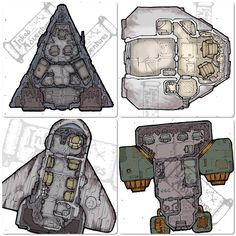 """""""Works in progress. Small spacecraft tiles for minis) Fineliner. Star Wars Planets, Star Wars Rpg, Star Wars Ships, Star Trek, Spaceship Design, Spaceship Concept, Space Fantasy, Fantasy Map, Character And Setting"""