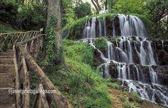 Cascada de los Fresnos. Monasterio de Piedra. Aragón. España Aragon, New Adventures, Amazing Gardens, Photo Art, Spanish, Waterfall, Around The Worlds, Travel, Outdoor