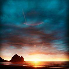 #sunrise #beach #morning