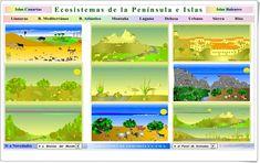 Ecosistemas de la Península Ibérica e Islas