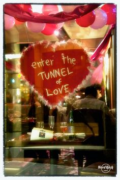 Enter the tunnel of #love