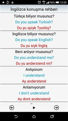 This Pin was discovered by nes Learn English Kid, English Time, Education English, Teaching English, English Grammar, English Language, Vocabulary Journal, Turkish Lessons, Learn Turkish Language