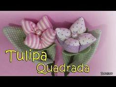 Tulipanes de Tela fáciles de hacer de Mis Flores de Tela - YouTube