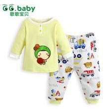 2015 nuovo gg baby boy vestiti set cotone bianco baby boy ragazze  Vestiti set marca neonato vestito del corpo parti superiori lunghe pantaloni per bebes(China (Mainland))