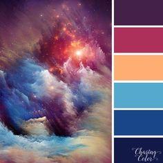 No photo description available. Color Schemes Colour Palettes, Colour Pallette, Color Palate, Color Combos, Hue Color, Beautiful Color Combinations, Galaxy Colors, Colour Board, Vintage Design