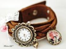 Les Roses Shabby © Montre Antique Bracelet