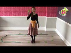 """Táncos mozgásfejlesztés - ti-ti-tá dobogó - Így tedd rá! """"OTTHON"""" - YouTube"""