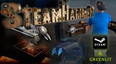 SteamHammerVR is a beautifully designed, steampunk-themed, story-based, smash 'em up Virtual Reality gaming experience.