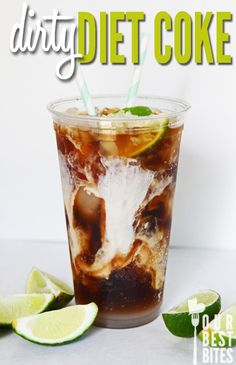"""My cousin Bevany had mentioned a """"Dirty Coke"""" to me. She said that it was amazing and I needed to try it.   """"What the heck is a Dirty Coke..."""
