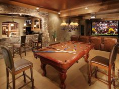 Friday Favorites Men cave Living rooms and Bar