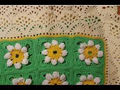 Tutorial copertina all'uncinetto - baby blanket crochet -