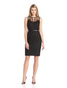 Maggy London Women's Daisy Organza Sheath Dress