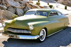 Mercury Coupé 1950 : la célèbre création de Max Grundy est à vendre