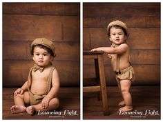 Studio session, 1 year old, wood look backdrop, cute boy, cute outfit, birthday portraits, one year old portraits, studio portraits
