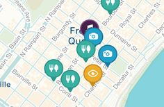 Secrets of the French Quarter Map