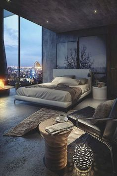 Modern Bedroom Ideas - Searching for the very best bedroom design ideas? Use these beautiful modern bedroom ideas as ideas for your very own incredible decorating plan . Modern Bedroom Design, Master Bedroom Design, Contemporary Bedroom, Interior Design Living Room, Bedroom Designs, Modern Elegant Bedroom, Master Suite, Rustic Modern, Luxury Bedrooms