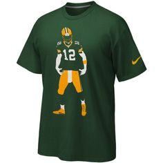Men's Green Bay Packers Aaron Rodgers Nike Green Team Color ...