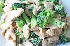 Clean Eating Recipe – Broccoli Chicken Stir Fry | Diet Meals and Easy Healthy Recipes that Help Me Lose Weight #cleaneating #healthyeating #healthyrecipe