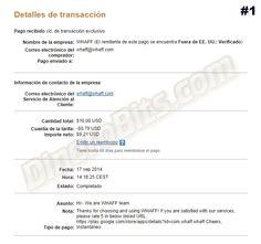 Primer pago recibido de Whaff Rewards: http://dinerobits.com/primer-pago-de-whaff-rewards/