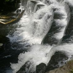 Waterfall at Monsal Head