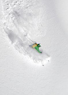 Powder Turns and Fresh Tracks #SKI SkiMag.com