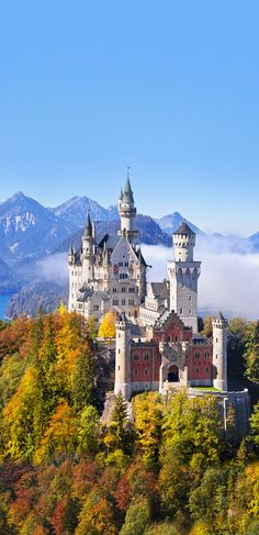 creativelolo is an independent artist creating amazing designs for great products such as tshirts stickers posters and phone cases. Germany Photography, Travel Photography, Travel Pictures, Cool Pictures, French Castles, Germany Castles, Neuschwanstein Castle, Travel Goals, Adventure Awaits