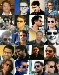The many faces of Misha Collins