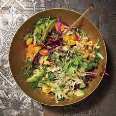 Avocado-and-Cabbage Slaw   Food & Wine