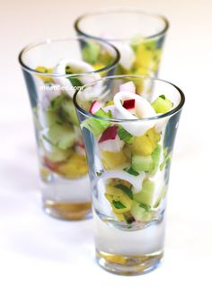 Calamari Ceviche Shooters - http://meatified.com