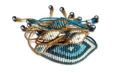 Evil eye macrame bracelets at rumisumaq.com #bracelets #macrame #evileye #jewelry #accessories
