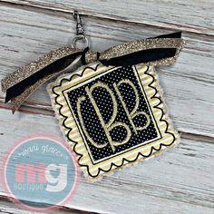 Backpack Tags, Applique Designs, Embroidery Applique, Monogram, Wallet, Handmade Purses, Purses, Diy Wallet, Monograms