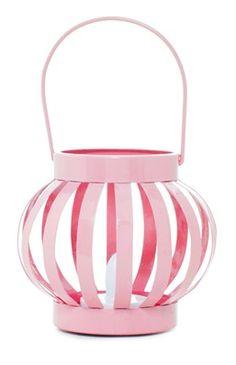 Pinke LED-Laterne