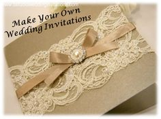 DIY Friday: How to Make Your Own Wedding Invitations | GirlsGuideTo