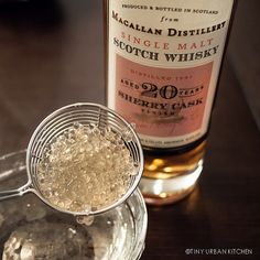 "Scotch whisky ""caviar"" -  molecular gastronomy. Thinking one of the next meetings of the Astoria Whisky Society..."