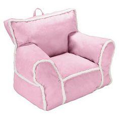 Circo Suede And Sherpa Bean Bag Chair