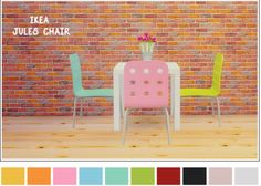 LinaCherie: IKEA Jules chair • Sims 4 Downloads