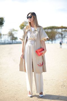 Neutral Layers + Pop of Color