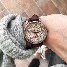 Woodstock Watch! Shop: www.woodstockzambon.com #woodstockzambon #oroscopo #davinci #leonardodavinci #streetstyle #style #mode #orologio #watch #watches #gift #original