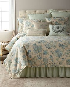 Shop designer duvet covers and sets at Horchow. Browse our elegant selection of duvet covers and sets in fine fabrics. Chic Bedding, Duvet Bedding, Linen Bedding, Bed Linens, Modern Bedding, Luxury Duvet Covers, Luxury Bedding Sets, Queen Bedding Sets, Queen Duvet